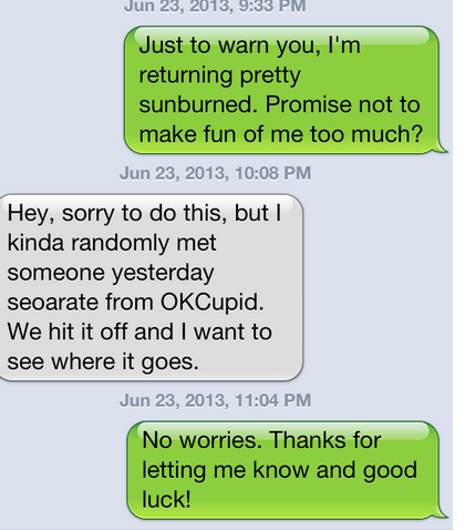david rejection text
