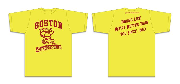 Boston Superfraud shirt