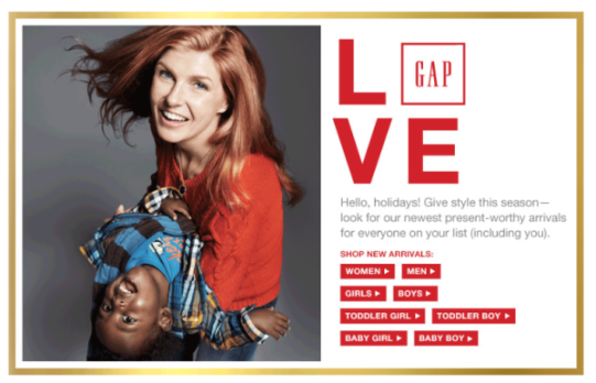 connie britton gap ad