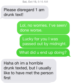 m drunk text apology