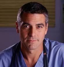 george clooney dr ross