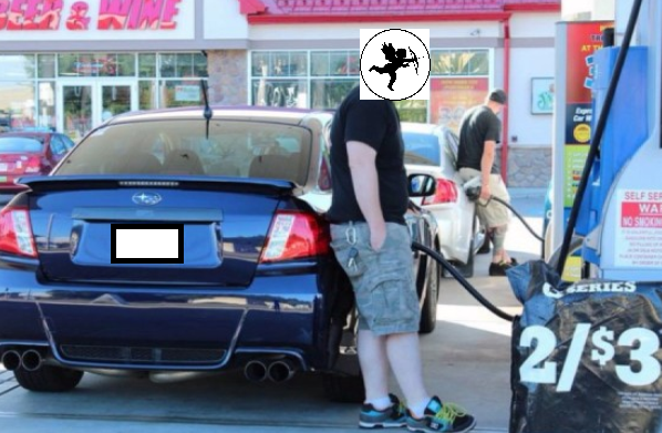 pic of the week - pumping gas