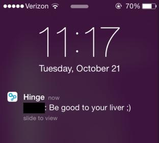 hinge liver